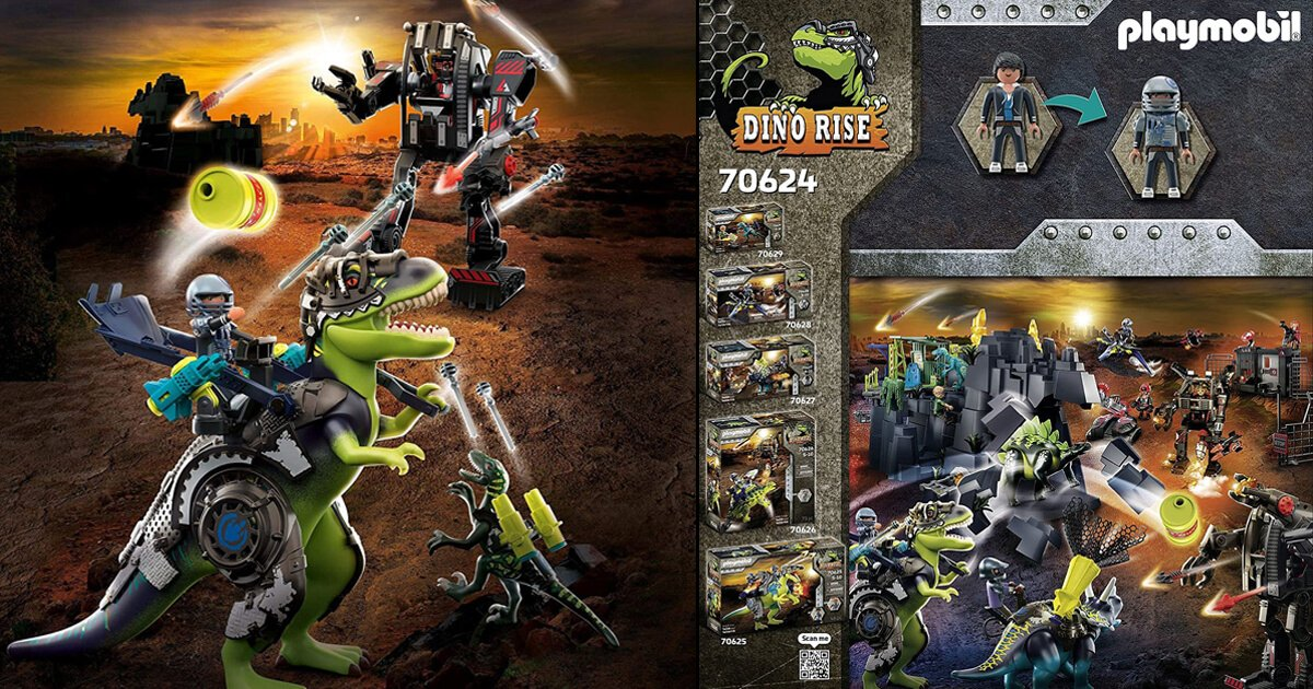 Playmobil Dino Rise Dinosaurier Spielzeug