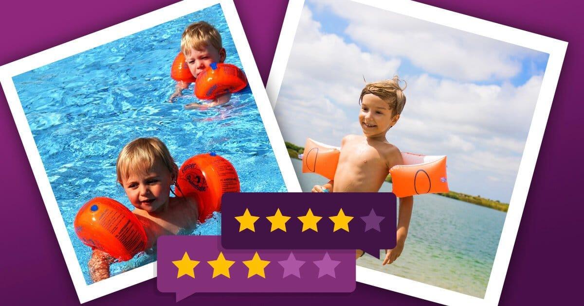 Schwimmflügel für Kinder & gute Alternativen