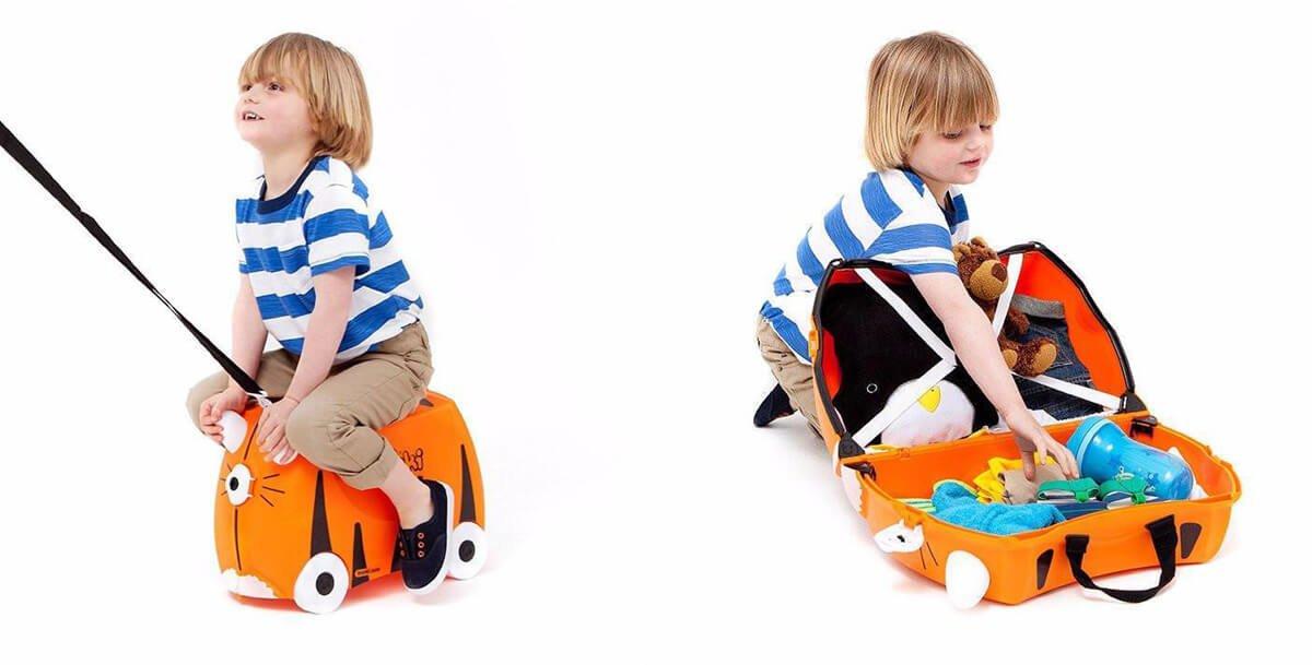 Trunki Hartschalenkoffer für Kinder zum Rutschen