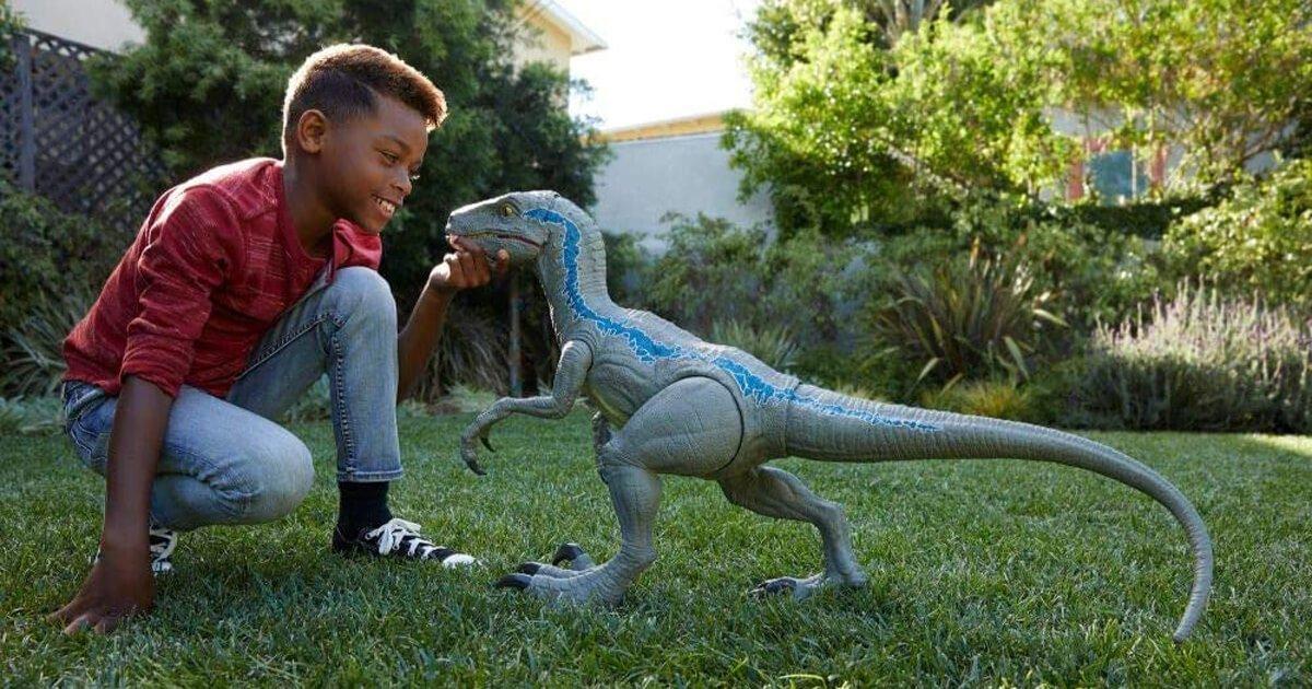 Velociraptor Spielzeug Figur