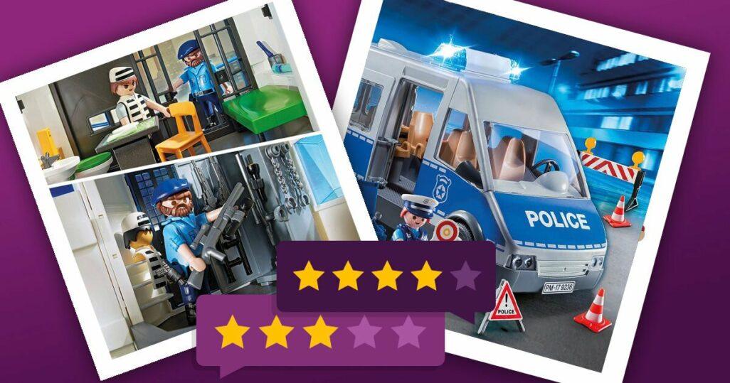 Playmobil Polizei - Polizeiauto und Polizeieinsatz