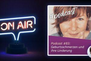Podcast #83 - Geburtsschmerzen und ihre Linderung