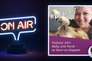 Podcast #91 - Baby und Hund - so kann es klappen